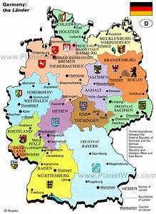 German Travel Map