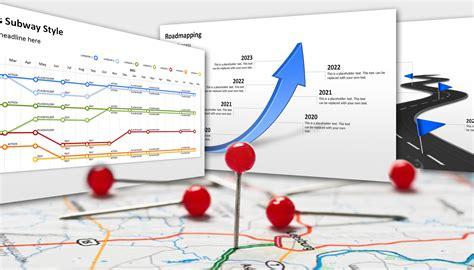 auf der strasse zum erfolg mit powerpoint roadmaps