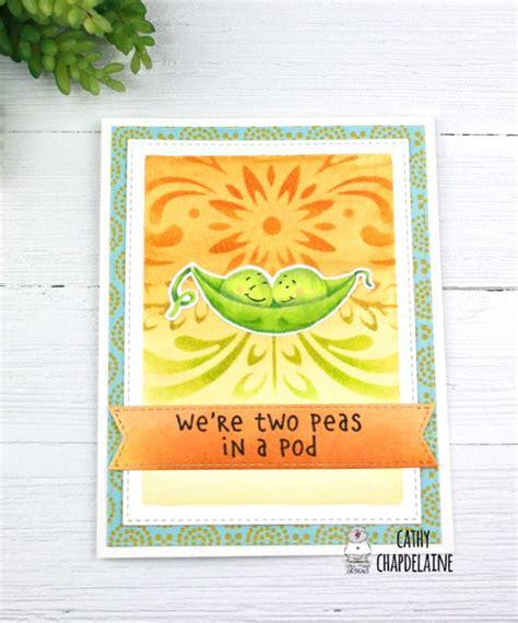 gerda steiner designs peas   stamps hero arts