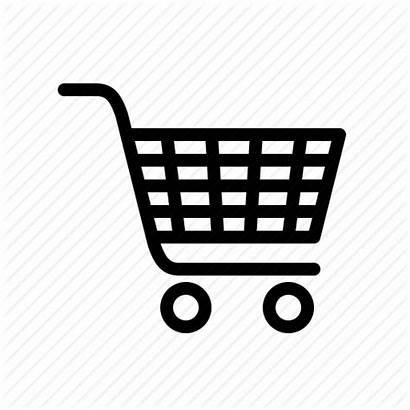 Trolley Icon Shopping Transparent Clipart Supermarket Simple