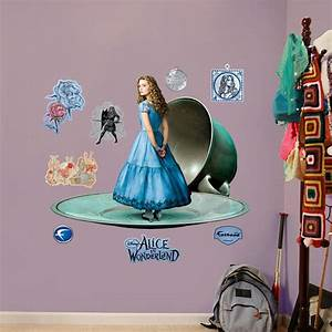 alice alice in wonderland disney With the best fatheads wall decals