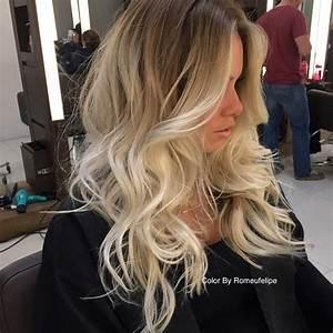 Ombre Hair Blond Polaire : platynowe sombre super trend wiosna lato 2016 ten efekt was uwiedzie ~ Nature-et-papiers.com Idées de Décoration