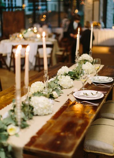 Southern Wedding Farm Table