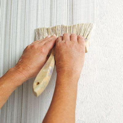 create  faux fabric effect  paint fabrics
