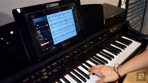 yamahas smart pianos work  alexa  teach