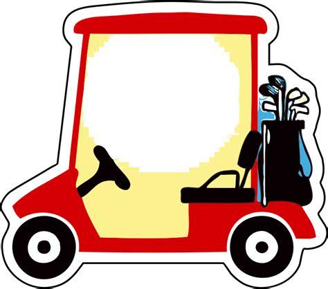 Golf Cart Clip Clipart Golf Cart