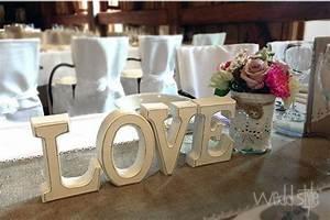 Große Deko Buchstaben : gro e love buchstaben aus holz f r hochzeit und tischdekoration vintage hochzeitsdeko ~ Markanthonyermac.com Haus und Dekorationen