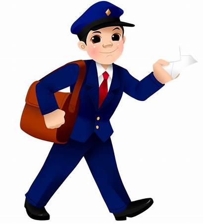 Postman Clip Mailman Clipart Mail Carrier Postmen