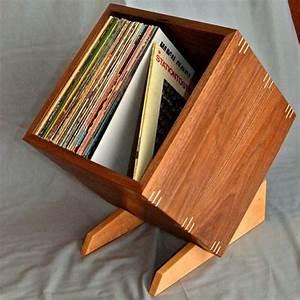 Meuble Pour Vinyle : meuble vinyle meuble vinyle vinyles et en bois ~ Teatrodelosmanantiales.com Idées de Décoration