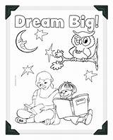 Coloring Dream Library Pages Week National Sheet Sheets Printable Summer Azcoloring Popular Reading Print Template Credit Larger 2076 93kb sketch template