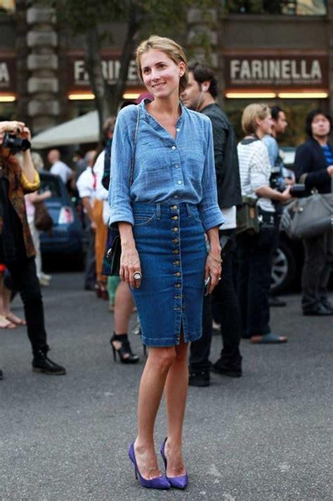Formas De Usar Una Falda De Blue Jeans | Cut u0026 Paste u2013 Blog de Moda