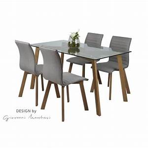 Table Et Chaise Style Scandinave