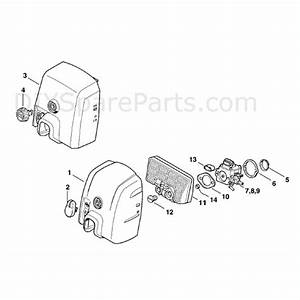 Stihl Ms 310 Chainsaw  Ms310  Parts Diagram  Carburetor