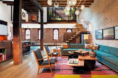 deco salon et cuisine ouverte la deco loft yorkais en 65 images archzine fr
