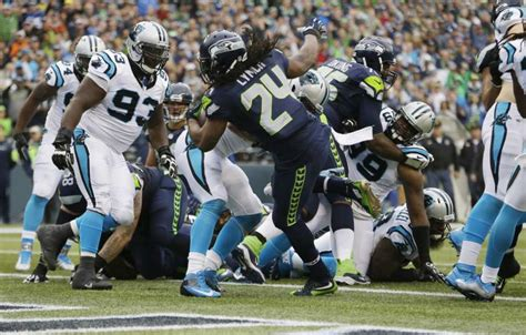 seahawks rb marshawn lynch moves   franchises record