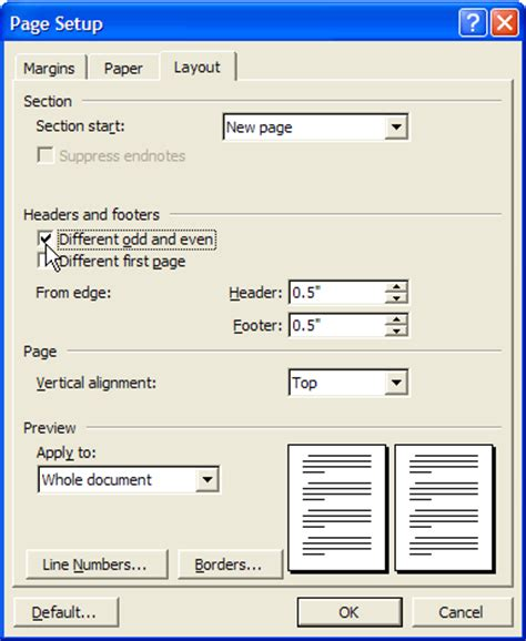 creating headers and footers a step by step approach