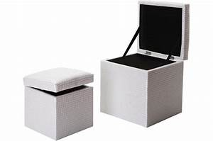 Coffre De Rangement Extérieur Pas Cher : coffre pouf design ~ Dailycaller-alerts.com Idées de Décoration