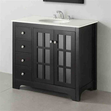 Bathroom Cabinet Floor by Black Bathroom Floor Cabinet Home Furniture Design