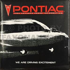 1994 Pontiac Bonneville Repair Shop Manual Original Set