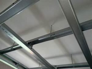 Faux Plafond Placo Sur Rail : photos de faux plafond avec lumi re indirecte groupes ~ Melissatoandfro.com Idées de Décoration