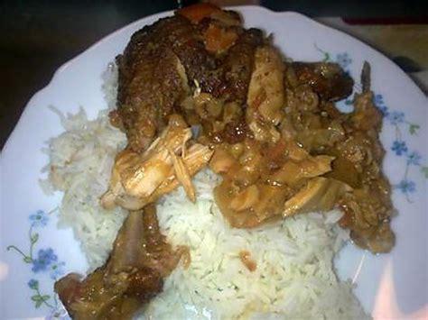 recette de poulet fum 233 224 la p 226 te d arachide