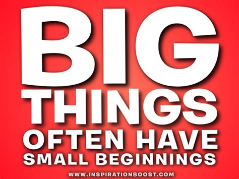 small versus big quotes