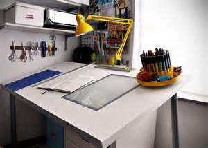 how to make a diy adjustable drafting table from any