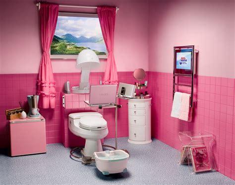 beautiful pink teenage bathroom design by aquaplus girls