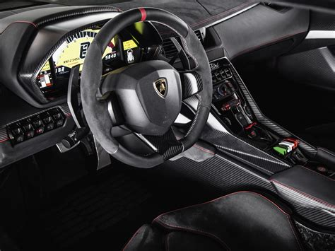 2013 Lamborghini Veneno Supercar Interior D Wallpaper