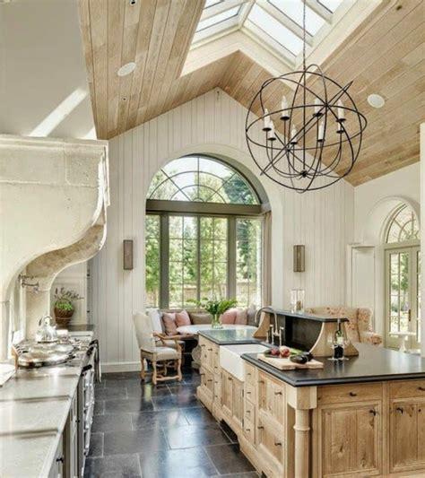 cuisine bois et fer 45 idées en photos pour bien choisir un îlot de cuisine