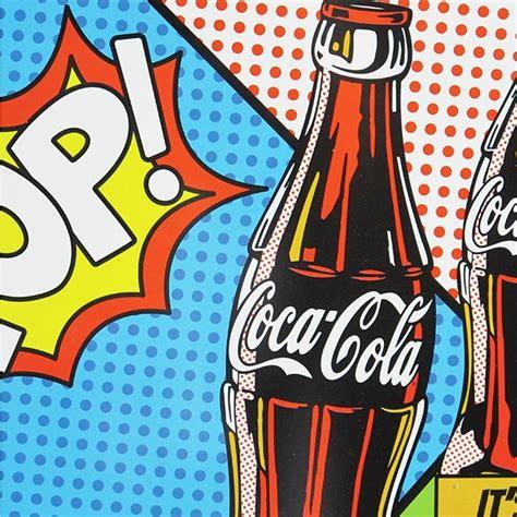 metal car cover tray coca cola pop