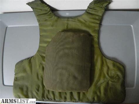 Body Armor Inserts (kevlar