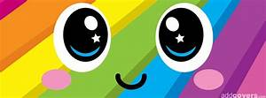 Cute colorful Smile Facebook Covers for Timeline.