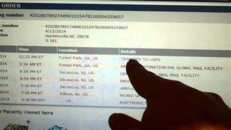 Strange Tracking Info In Dhl Global Mail (newegg Eggsaver