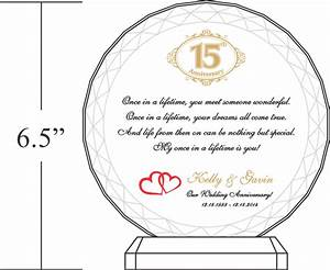 15th crystal wedding anniversary gifts diy awards With 15 wedding anniversary gift