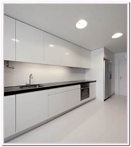 white colored kitchen and granite countertop selection 1279