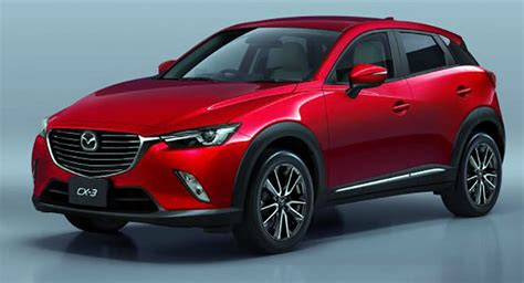 mazda 6 crossover first photos of 2016 mazda cx 3 small crossover look legit