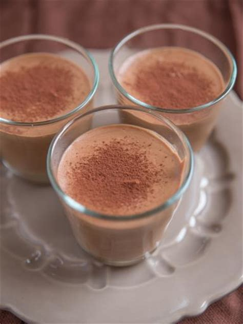 mousse au chocolat en poudre recette de mousse au