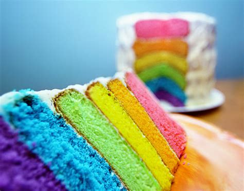 cake colors food rainbow image 224572 on favim