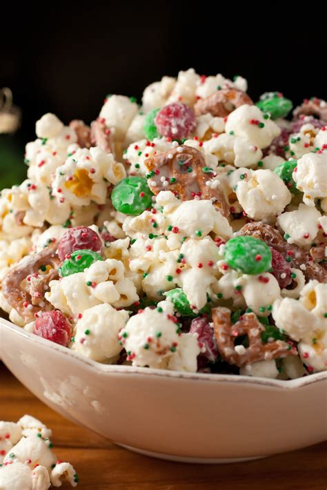 Christmas Crunch Popcorn Recipe