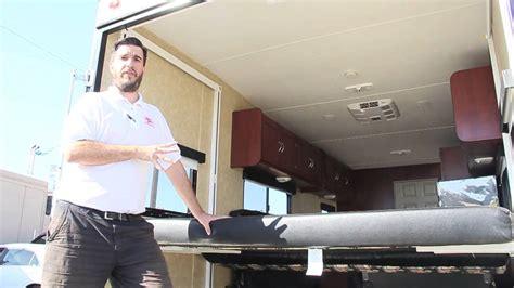 toy hauler  electric bed rear setup youtube