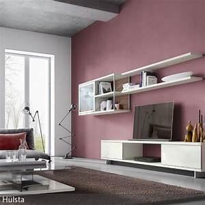 Wandfarben Wohnzimmer Beispiele : die besten 25 rosa wohnzimmer ideen auf pinterest romantisches wohnzimmer graue lounge und ~ Markanthonyermac.com Haus und Dekorationen