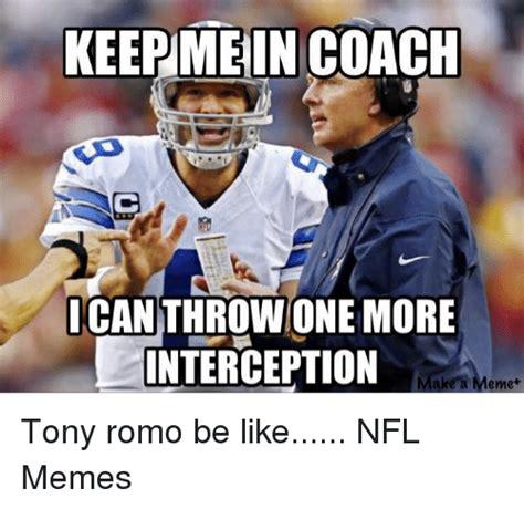 Romo Interception Meme - funny tony romo memes of 2016 on sizzle football