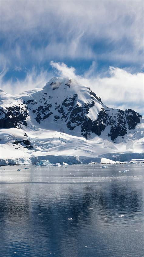 wallpaper sea   wallpaper ocean snow island