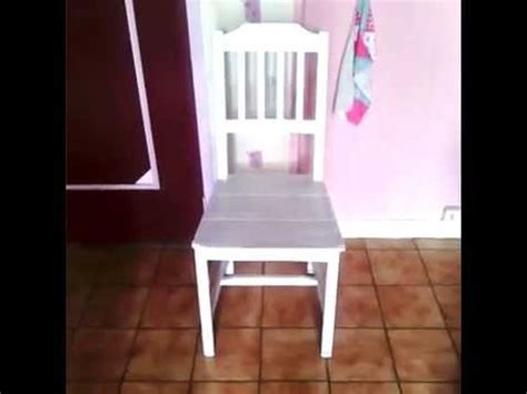 renover repeindre une chaise ikéa diy tuto