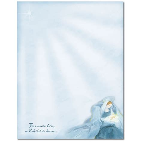 mary  baby jesus religious christmas holiday paper