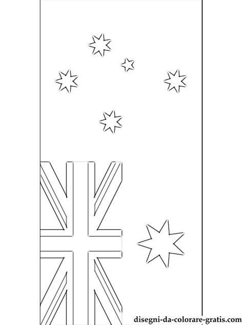 bandiera dellaustralia da colorare disegni da colorare gratis