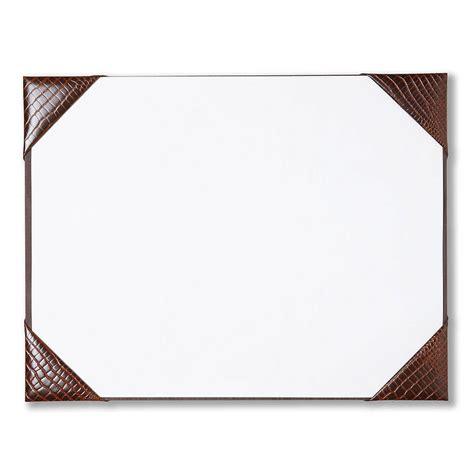 Desk Blotter Paper 20 X 36 by Leather Desk Blotter Pad Waucust415b Wood Arts Universe