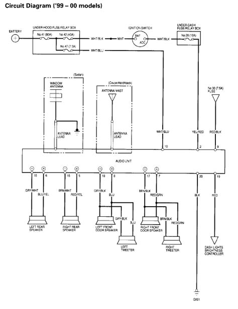 00 civic need help wiring my new jvc radio honda tech