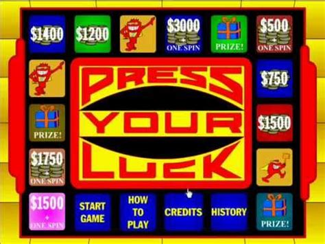play press  luck  youtube